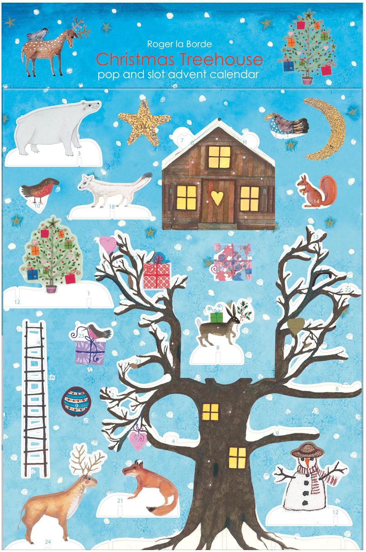 Advent Calendar - Pop & Slot Decoration - Midas Arts